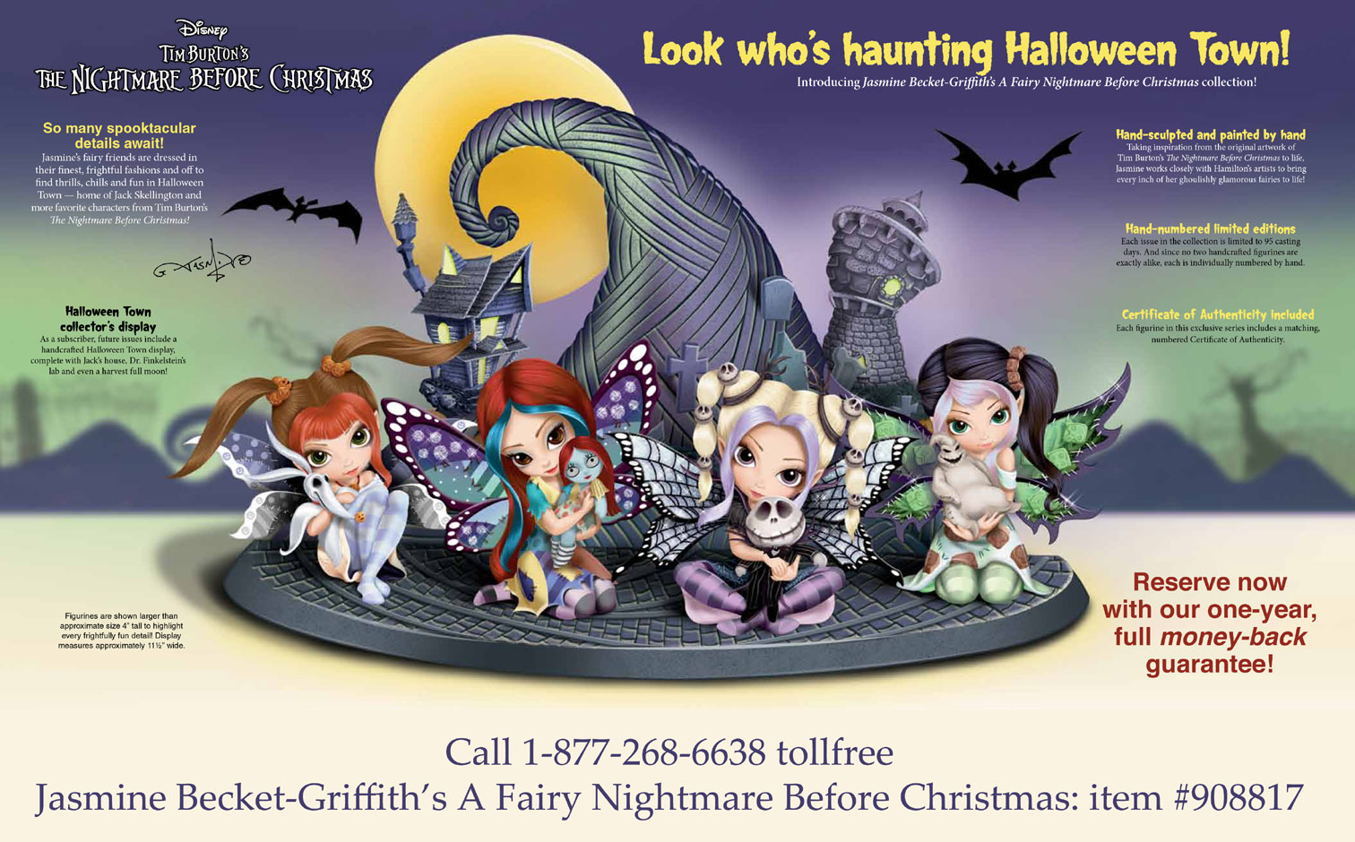 Nightmare Before Christmas - Jasmine Becket-Griffith